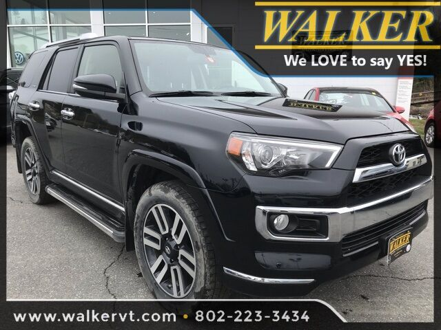 2017 Toyota 4Runner Limited Barre VT