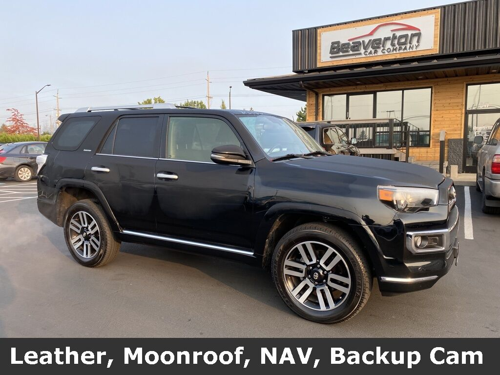 2017 Toyota 4Runner Limited OR