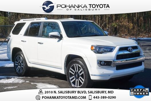 2017_Toyota_4Runner_Limited_ Salisbury MD