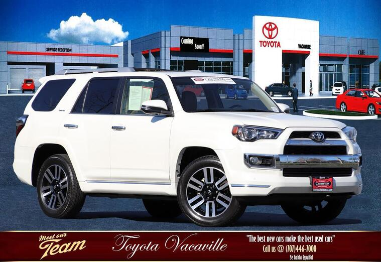 2017 Toyota 4Runner Limited Sport Utility Vacaville CA
