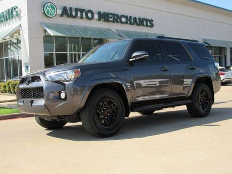 2017 Toyota 4Runner SR5 2WD  LEATHER SEATS, NAVIGATION, BACKUP CAMERA, HEATED FRONT SEATS, BLUETOOTH CONNECTIVITY Plano TX