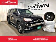 2017_Toyota_4Runner_SR5/4wd/ ***24th ANNUAL VICTORIA DAY SALE***/one owner/navigation/heated seats/winter tires_ Winnipeg MB
