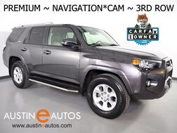 2017_Toyota_4Runner SR5 Premium_*NAVIGATION, BACKUP-CAMERA, TOUCH SCREEN, SOFTEX LEATHER, 3RD ROW SEATING, HEATED SEATS, BLUETOOTH PHONE & AUDIO_ Round Rock TX
