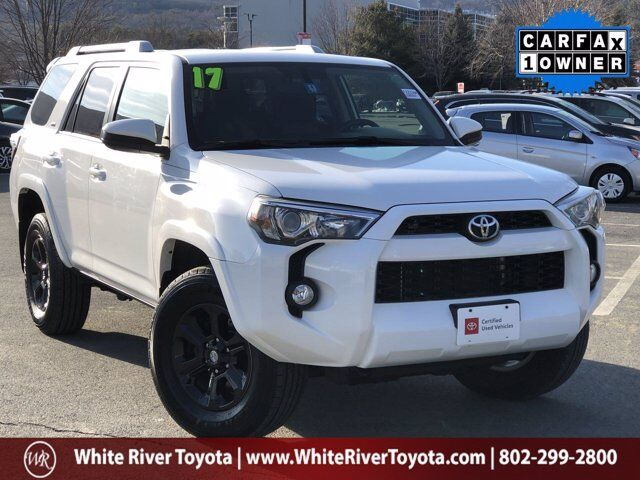 2017 Toyota 4Runner SR5 White River Junction VT