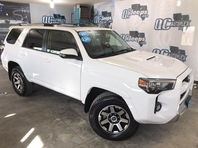 2017 Toyota 4Runner TRD Off Road Premium 4x4 4dr SUV