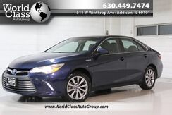2017_Toyota_Camry_Hybrid LE - HEATED LEATHER SEATS SUN ROOF BACKUP CAMERA NAVIGATION POWER ADJUSTABLE SEATS ECO MODES BLUETOOTH CONNECTIVITY_ Chicago IL