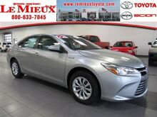 2017_Toyota_Camry_Hybrid LE_ Green Bay WI