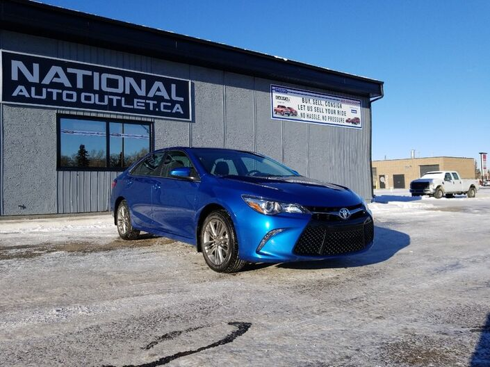2017 Toyota Camry SE - CLEAN CAR PROOF, HEATED SEATS Lethbridge AB