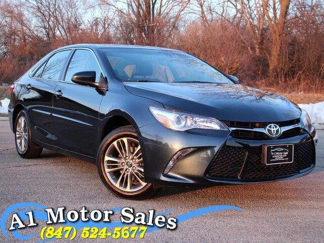 2017 Toyota Camry SE 1 Owner Rear Camera Moonroof Remote Start Schaumburg IL