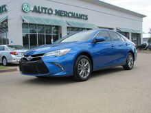 2017_Toyota_Camry_SE 2.5L 4CYLINDER, AUTOMATIC, LEATHER AND CLOTH SEATS, BLUETOOTH CONNECTION, BACK UP CAMERA, AUX_ Plano TX