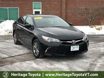 2017 Toyota Camry SE South Burlington VT
