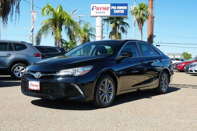 2017 Toyota Camry SE Mission TX