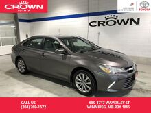 2017_Toyota_Camry_XLE Auto / Clean Carproof / Local / One Owner / Immaculate Condition / Great Value_ Winnipeg MB