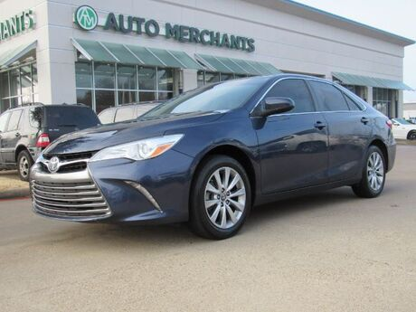 2017 Toyota Camry XLE LEATHER  SEATS, NAVIGATION SYSTEM, SUNROOF, BLIND SPOT MONITOR, LANE DEPARTURE WARNING Plano TX