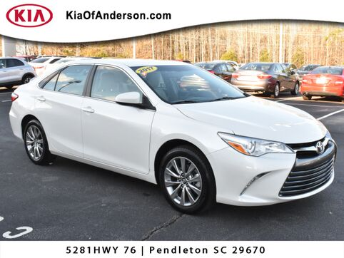 2017_Toyota_Camry_XLE_ Greenville SC