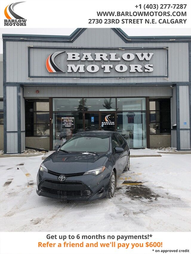 2017 Toyota Corolla CE FREE WINTER TIRES Calgary AB