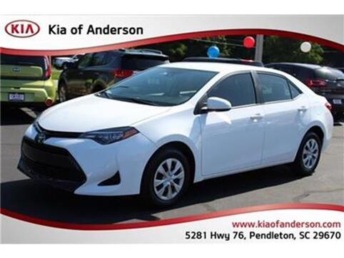 2017_Toyota_Corolla_L Sedan_ Pendleton SC