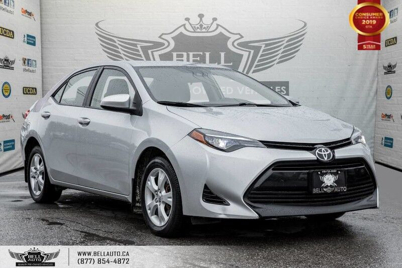 2017 Toyota Corolla LE, BACK-UP CAM, BLUETOOTH, COLLISION PREV, LANE DEP