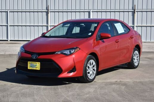 2017 Toyota Corolla LE CVT Houston TX