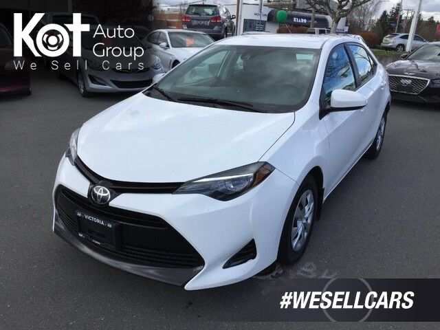 2017 Toyota Corolla LE ECO! 4 NEW TIRES! CLEANEST UNIT ON THE LOT! Victoria BC
