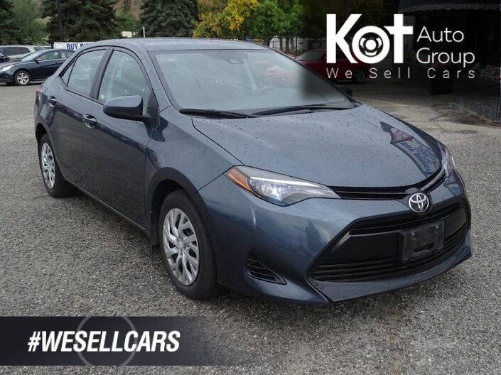 2017 Toyota Corolla LE, Heated seats, Bluetooth, Cruise and Traction Control Kelowna BC