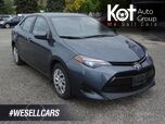 2017 Toyota Corolla LE, Heated seats, Bluetooth, Cruise and Traction Control