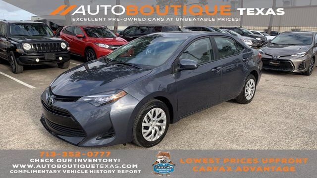 2017 Toyota Corolla LE Houston TX