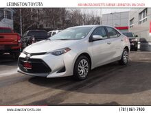 2017_Toyota_Corolla_LE_ Lexington MA