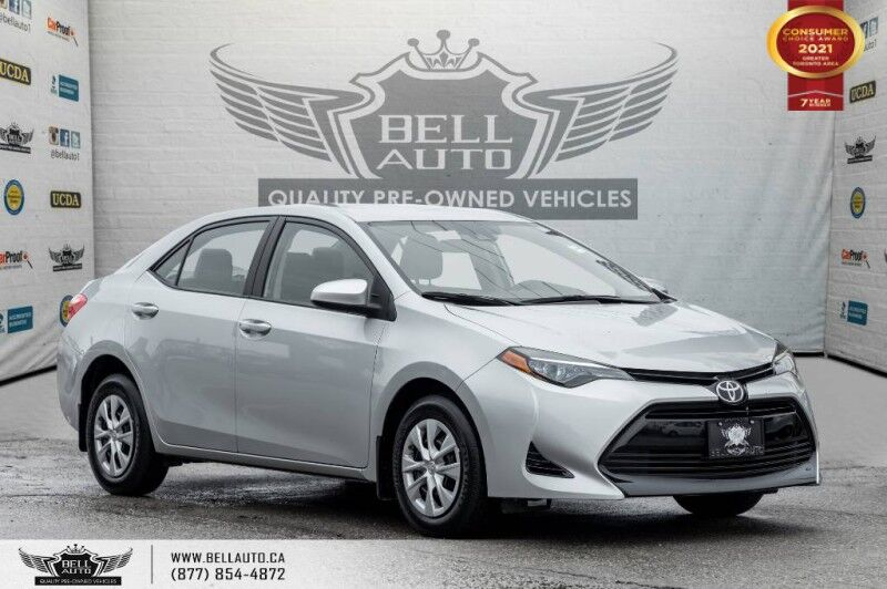 2017 Toyota Corolla LE, NO ACCIDENT, LOW KMS, BLUETOOTH, CRUISE CONTROL Toronto ON