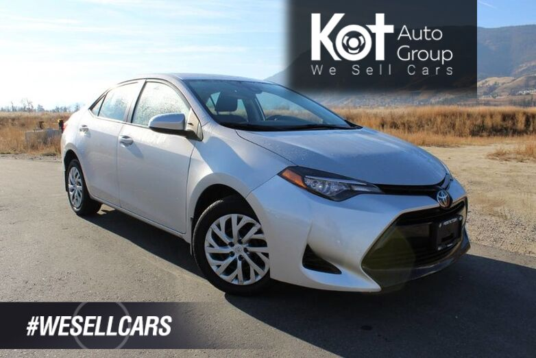 2017 Toyota Corolla LE, No Accidents, Low Km's, Heated Front Seats Kelowna BC