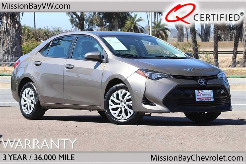 2017 Toyota Corolla LE San Diego CA