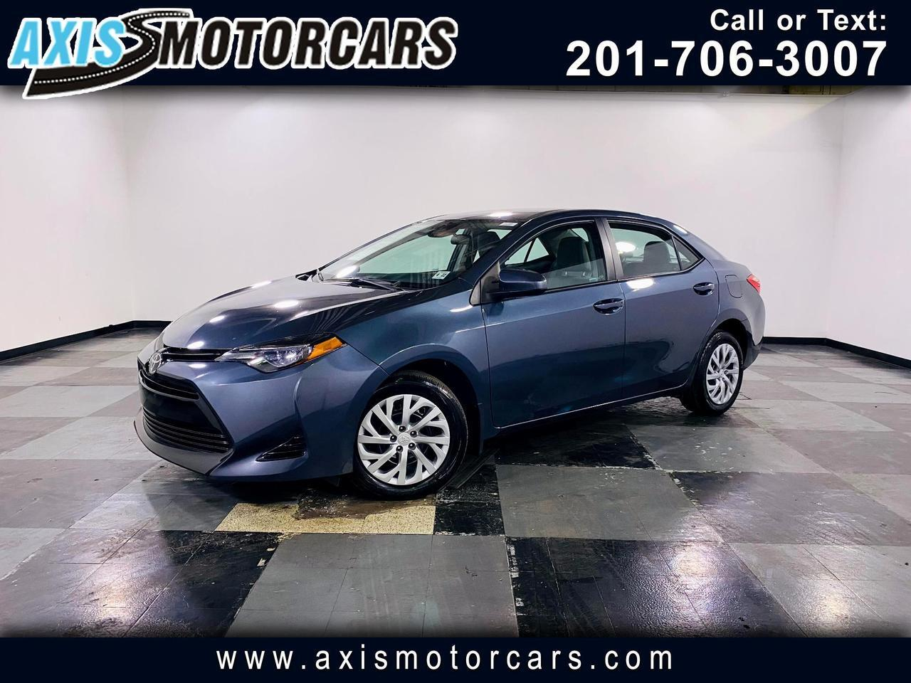 2017 Toyota Corolla LE w/Backup Camera Jersey City NJ