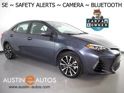 2017_Toyota_Corolla SE_*LANE DEPARTURE ALERT, COLLISION ALERT w/BRAKING, BACKUP-CAMERA, ADAPTIVE CRUISE, SCOUT GPS, TOUCH SCREEN, ALLOY WHEELS, BLUETOOTH PHONE & AUDIO_ Round Rock TX