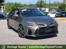 2017 Toyota Corolla SE South Burlington VT