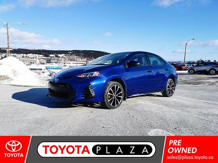 2017 Toyota Corolla SE UPGRADE St. Johns NL