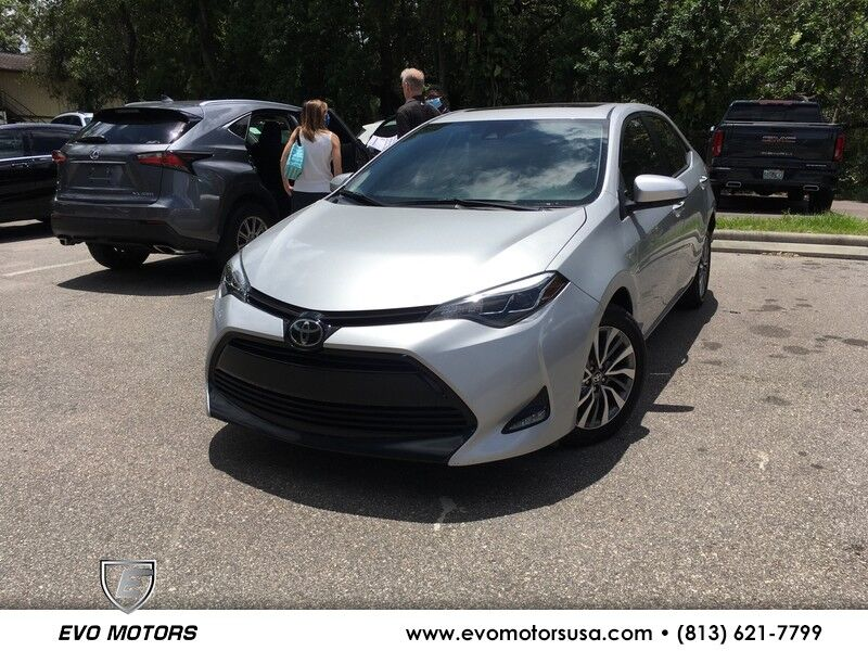 2017 Toyota Corolla XLE. LEATHER. SUNROOF Seffner FL
