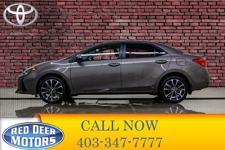 2017 Toyota Corolla XSE Leather Roof Nav Red Deer AB