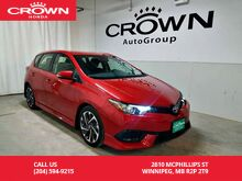 2017_Toyota_Corolla iM_4dr HB/ ***Long Weekend Special***One owner/ low kms/ back up cam/_ Winnipeg MB