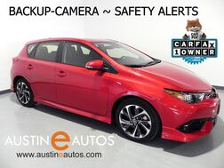 2017_Toyota_Corolla iM_*BACKUP-CAMERA, COLLISION ALERT, LANE DEPARTURE ALERT, PIONEER AUDIO, ALLOY WHEELS, BLUETOOTH PHONE & AUDIO_ Round Rock TX