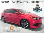 2017 Toyota Corolla iM *BACKUP-CAMERA, COLLISION ALERT, LANE DEPARTURE ALERT, PIONEER AUDIO, ALLOY WHEELS, BLUETOOTH PHONE & AUDIO