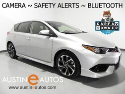 2017_Toyota_Corolla iM_*BACKUP-CAMERA, COLLISION ALERT, LANE DEPARTURE ALERT, PIONEER AUDIO, ALLOY WHEELS, BLUETOOTH_ Round Rock TX
