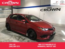 2017_Toyota_Corolla iM_HB CVT / Clean Carproof / One Owner / Local / Lease Return / Immaculate Condition / Best Value_ Winnipeg MB