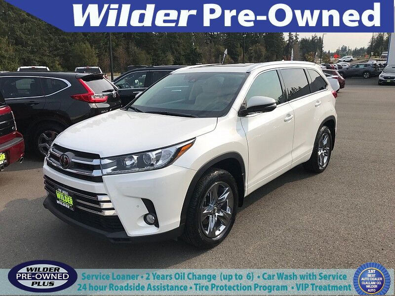 2017 Toyota Highlander 4d SUV AWD Limited Platinum Port Angeles WA