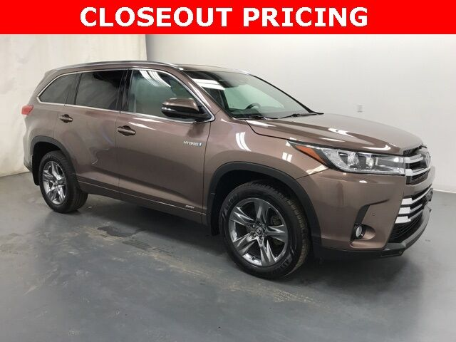 2017 Toyota Highlander Hybrid Limited Platinum AWD Holland MI