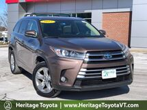 2017 Toyota Highlander Hybrid Limited South Burlington VT