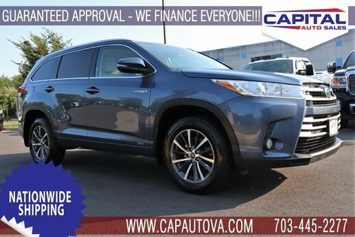 2017 Toyota Highlander Hybrid XLE Chantilly VA