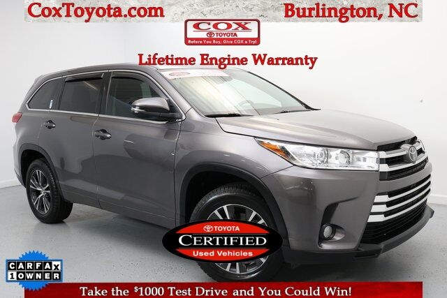 2017 Toyota Highlander LE Burlington NC