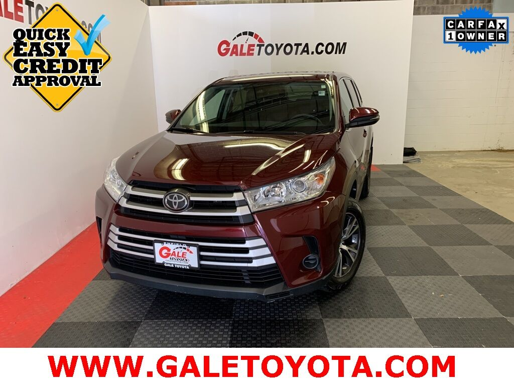 2017 Toyota Highlander LE Enfield CT