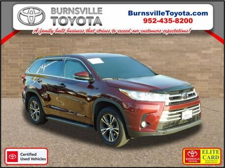 2017_Toyota_Highlander_LE Plus_ Burnsville MN