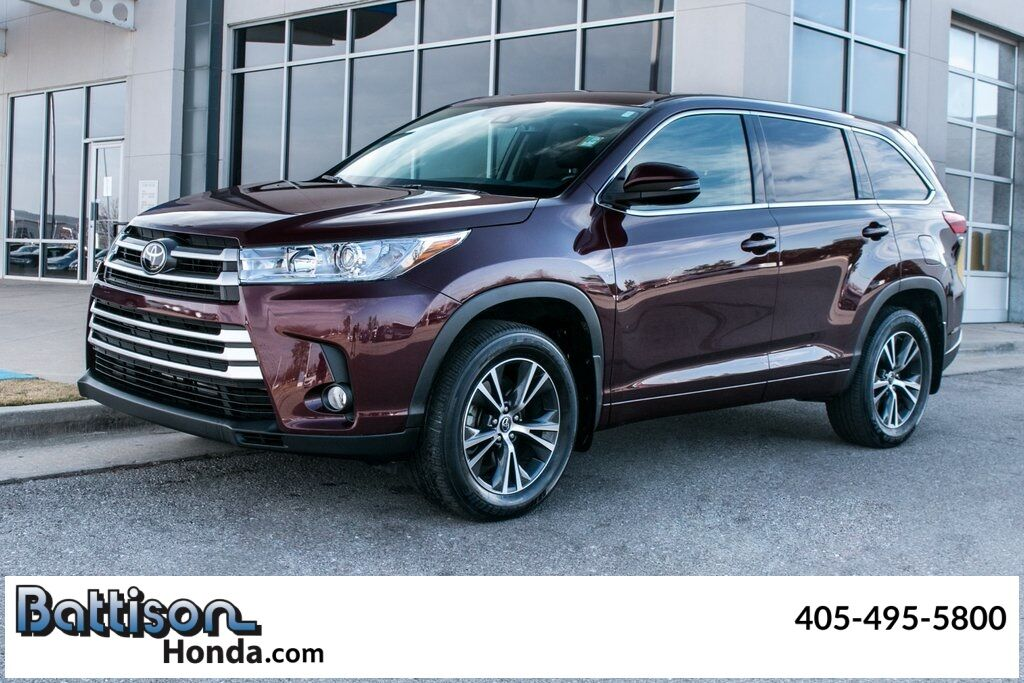 2017_Toyota_Highlander_LE Plus_ Oklahoma City OK